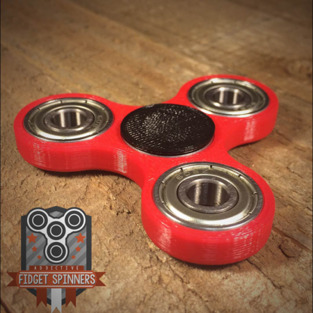 EDC Spinner Tri Bar Fidget Toy