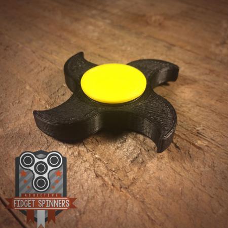 4 Point Shuriken Fidget Spinner