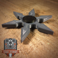 6 Point Shuriken Fidget Spinner