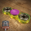 Acrylic EDC Spinner Dual Bar Fidget Toy with Caps