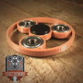 EDC Spinner Eclipse Bar Fidget Toy with Caps