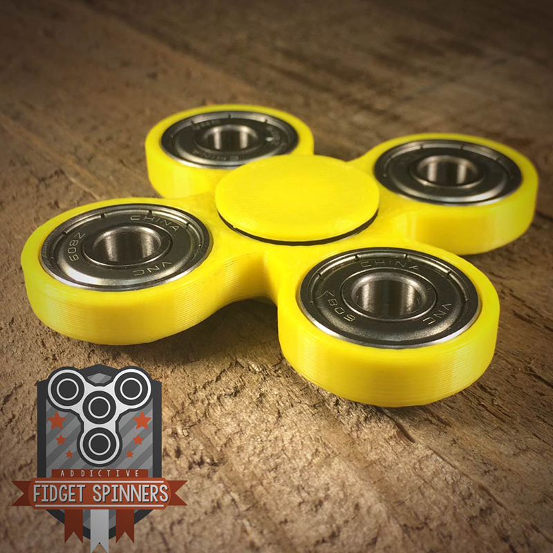 EDC Spinner Quad Bar Fidget Toy