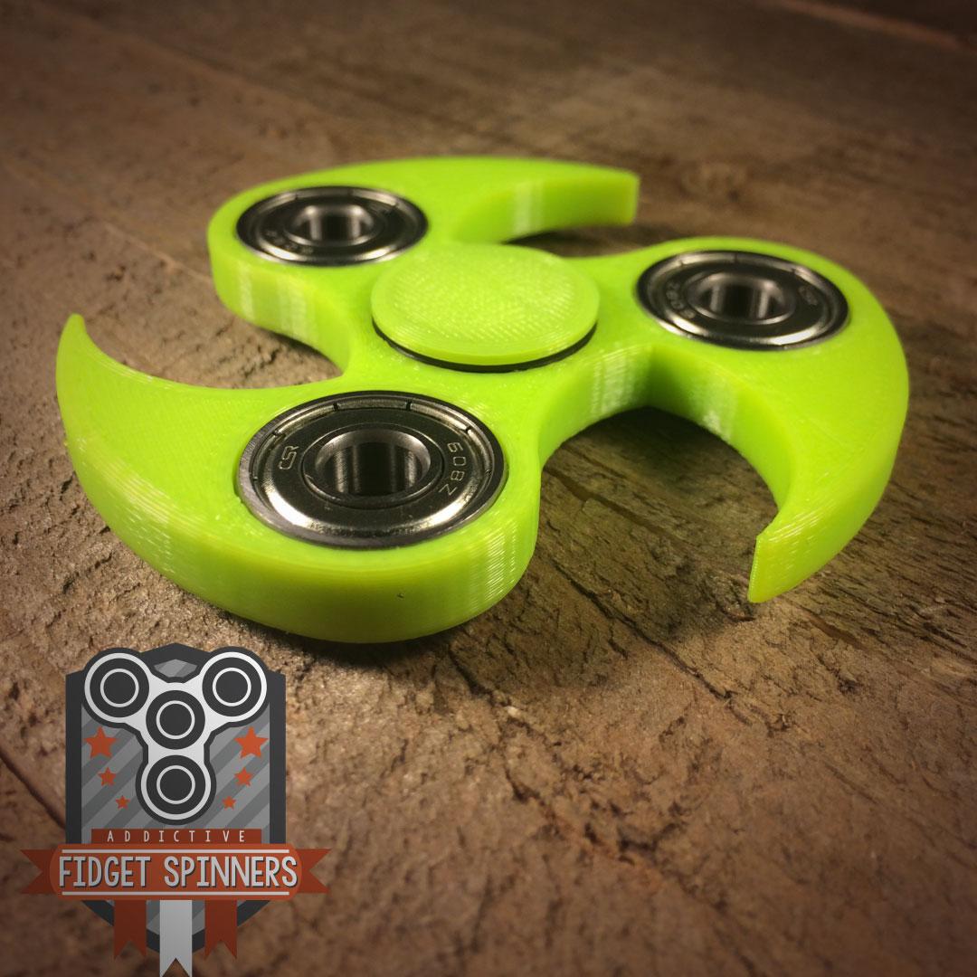 EDC Spinner Ninja Star Fidget Toy With Caps