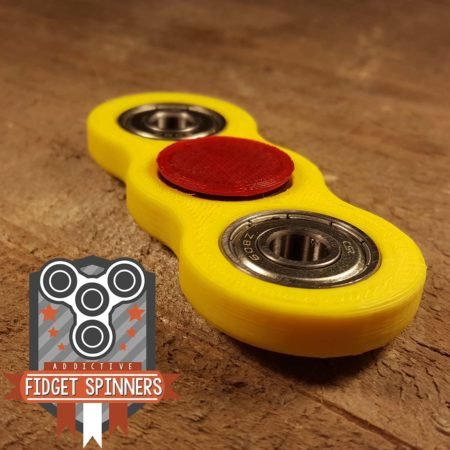 EDC Spinner Thick Dual Bar Fidget Toy