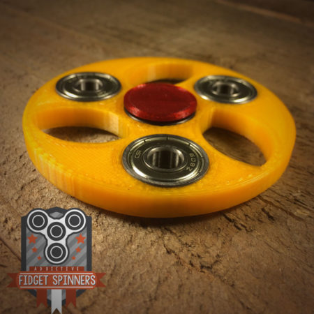 EDC Tri Football Spinner