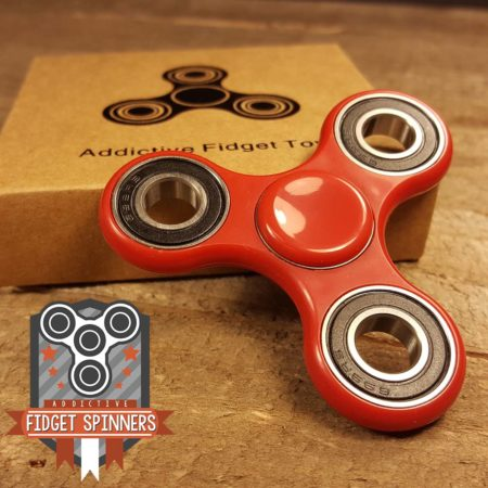 EDC 10.5 Profile Tri Bar Spinner Fidget Toy