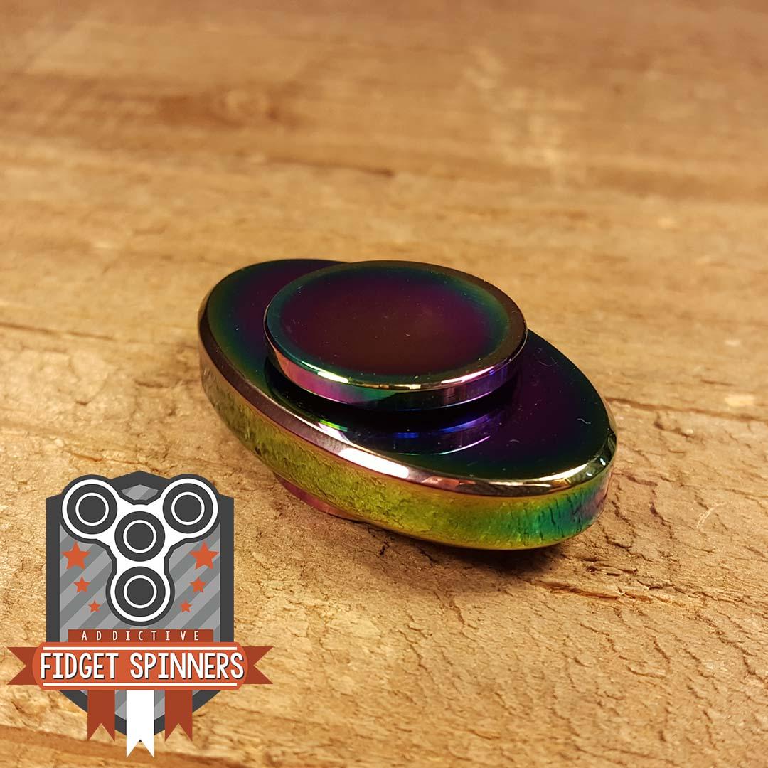 Edc Oval Dual Bar Fidget Spinner