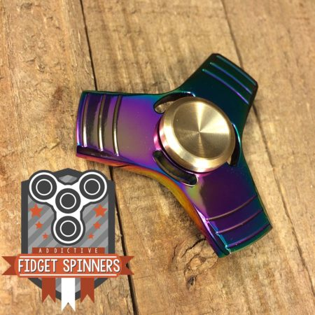 Rainbow Propeller Tir Bar Spinner