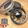 EDC Steam Wheel Fidget Spinner
