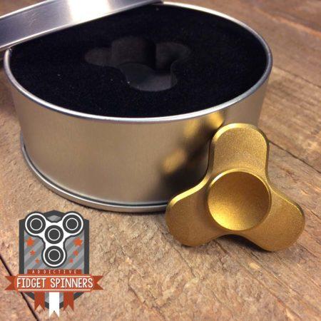 EDC Brass Tri Fidget Spinner