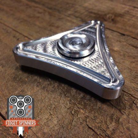 EDC Aluminum Triangle Fidget Spinner