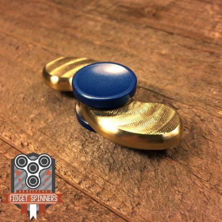 EDC Brass Snake Fidget Spinner