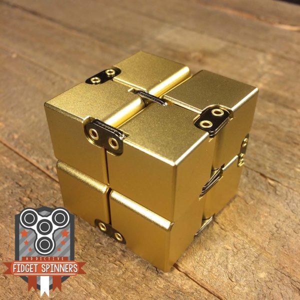 infinity cube  EDC Aluminum Infinity Cube Fidget Toy - Addictive Fidget Toys