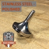 EDC Strato Smooth Metal Top (Stainless Steel Polished)labeled