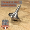 EDC Strato Smooth Metal Top (Stainless Steel Unpolished)labeled