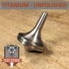 EDC Strato Smooth Metal Top (Titanium Unpolished)labeled